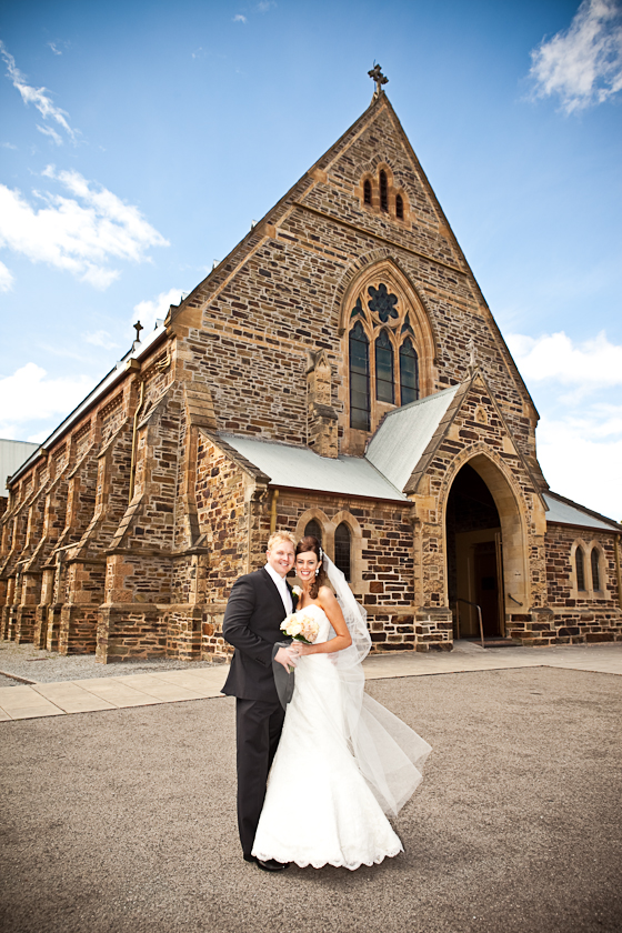 St Laurance's Church Wedding North Adelaide