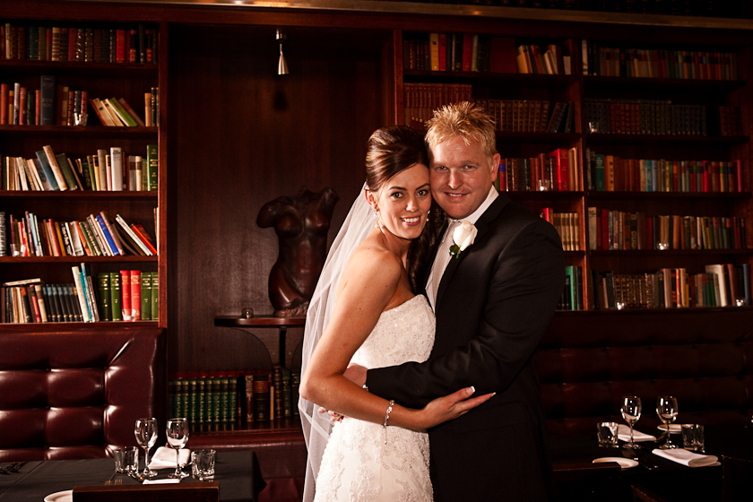 Wedding Photography Library room at the Archer Hotel North Adelaide