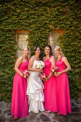 Bridal Party at the Old Clarendon Inn