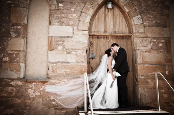 Wedding at the 100 Eaves Restuarant Willunga
