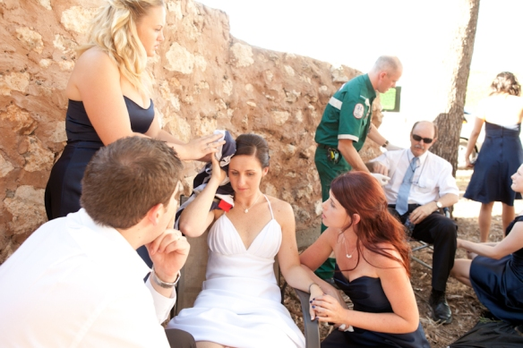 Car Crash at Wedding