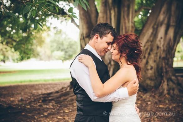 Adelaide Botanic Gardens Wedding
