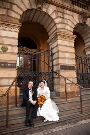 Wedding Photo Supreme Courts Adelaide