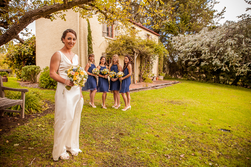 Bridal Party at Adelaide Hills Country Cottages
