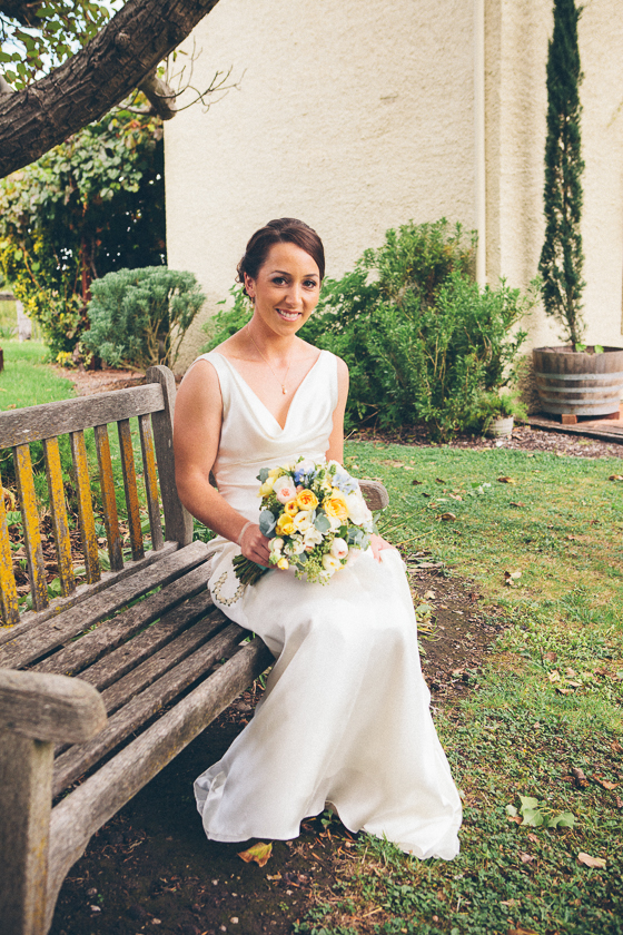 Bride at Adelaide Hills Country Cottages, Adelaide Hills Wedding