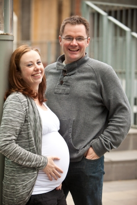 Urban maternity photography Adelaide West End