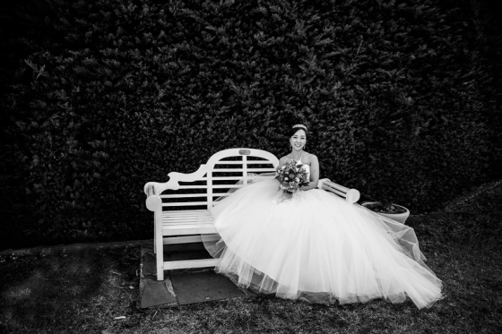 Bride at Carrick Hill, Mitcham