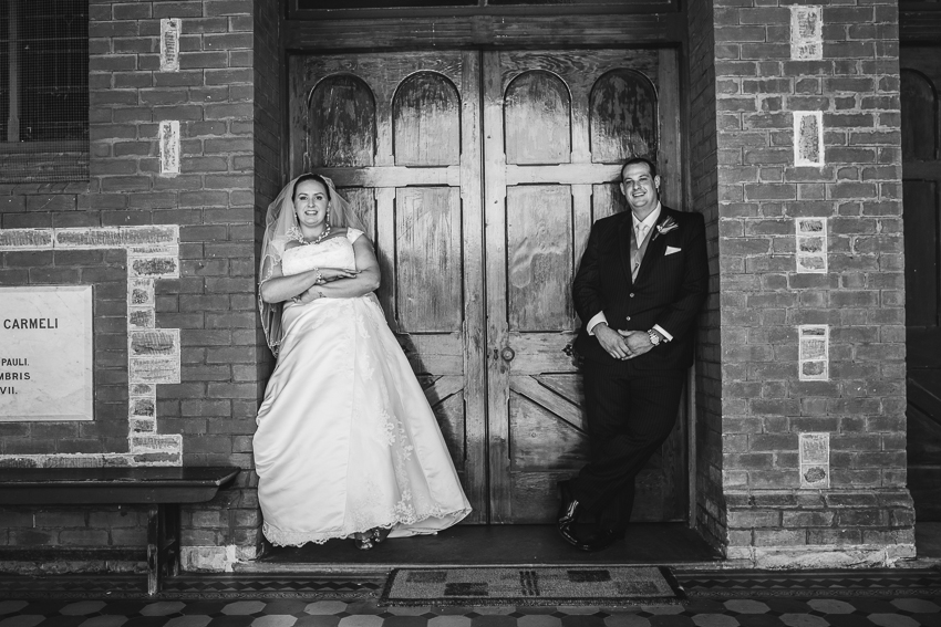 Ss Peter Paul Church Gawler Bride and Groom Wedding Photography