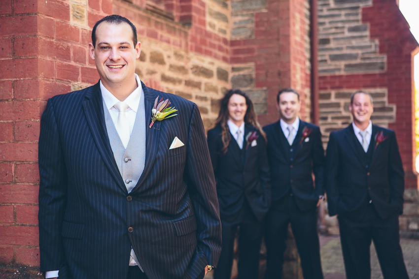 Ss Peter Paul Church Gawler Groom Wedding Photography
