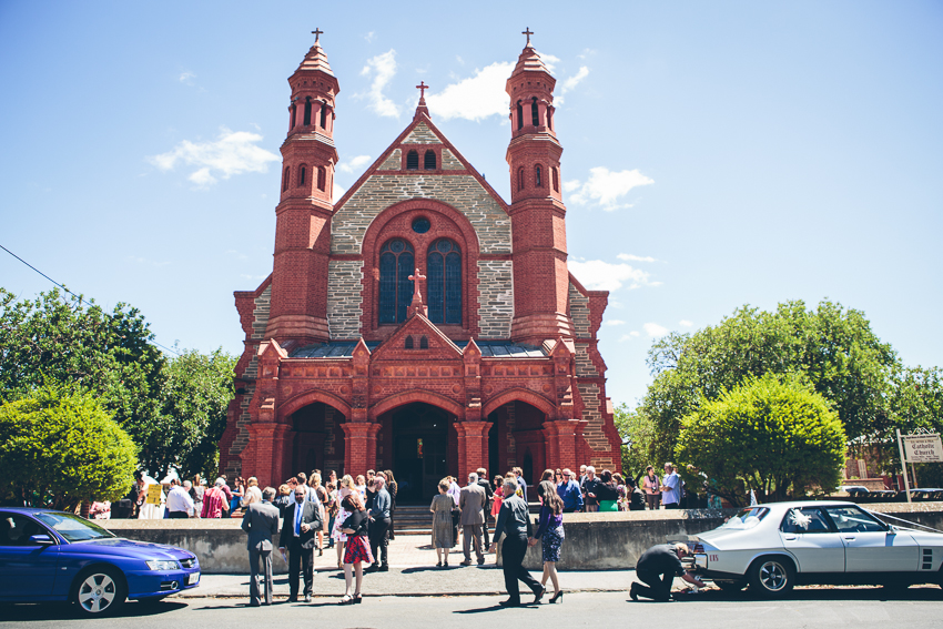 Ss Peter Paul Church Gawler Wedding Photography