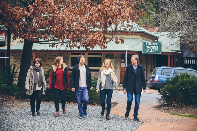 Adelaide Hills Family Photography at The Stirling Hotel